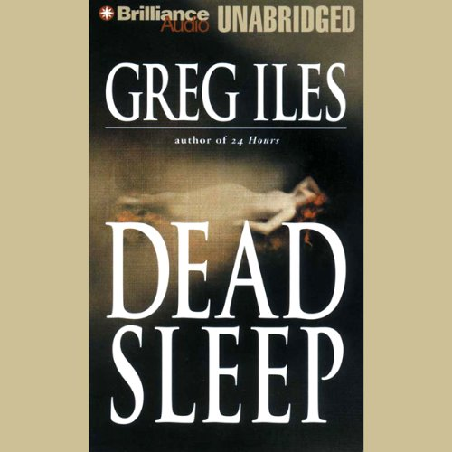 Dead Sleep audiobook cover art