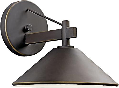 "popular Ripley 9"" sale 1 Light Outdoor Wall Light in wholesale Olde Bronze online"