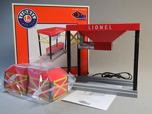 Lionel Model Train Accessories, O Gauge Plug-Expand-Play Coal Loading Station