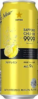 サッポロ 99.99<フォーナイン>クリアレモン 500ml×24本 [ チューハイ ]