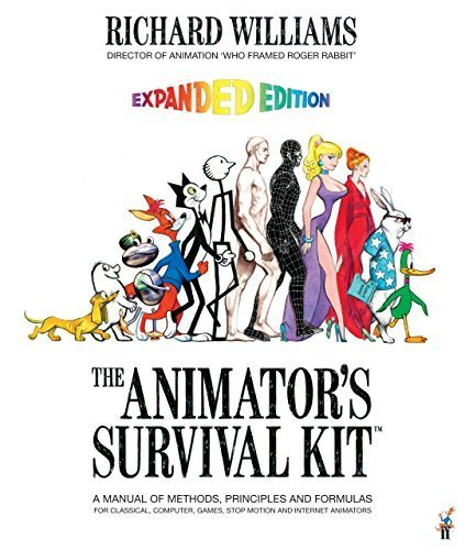 The Animator's Survival Kit: A Manual of Methods, Principles and Formulas for Classical, Computer, Games, Stop Motion and Internet Animators by Richard Williams(1905-07-01)