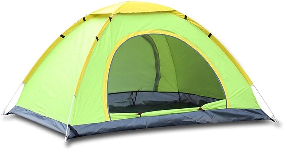 Olprkgdg 2 Personnes et 3 Personnes Tente Camping en Plein air randonnée Tente de Prougeection UV (Couleur   vert, Taille   Two Person)