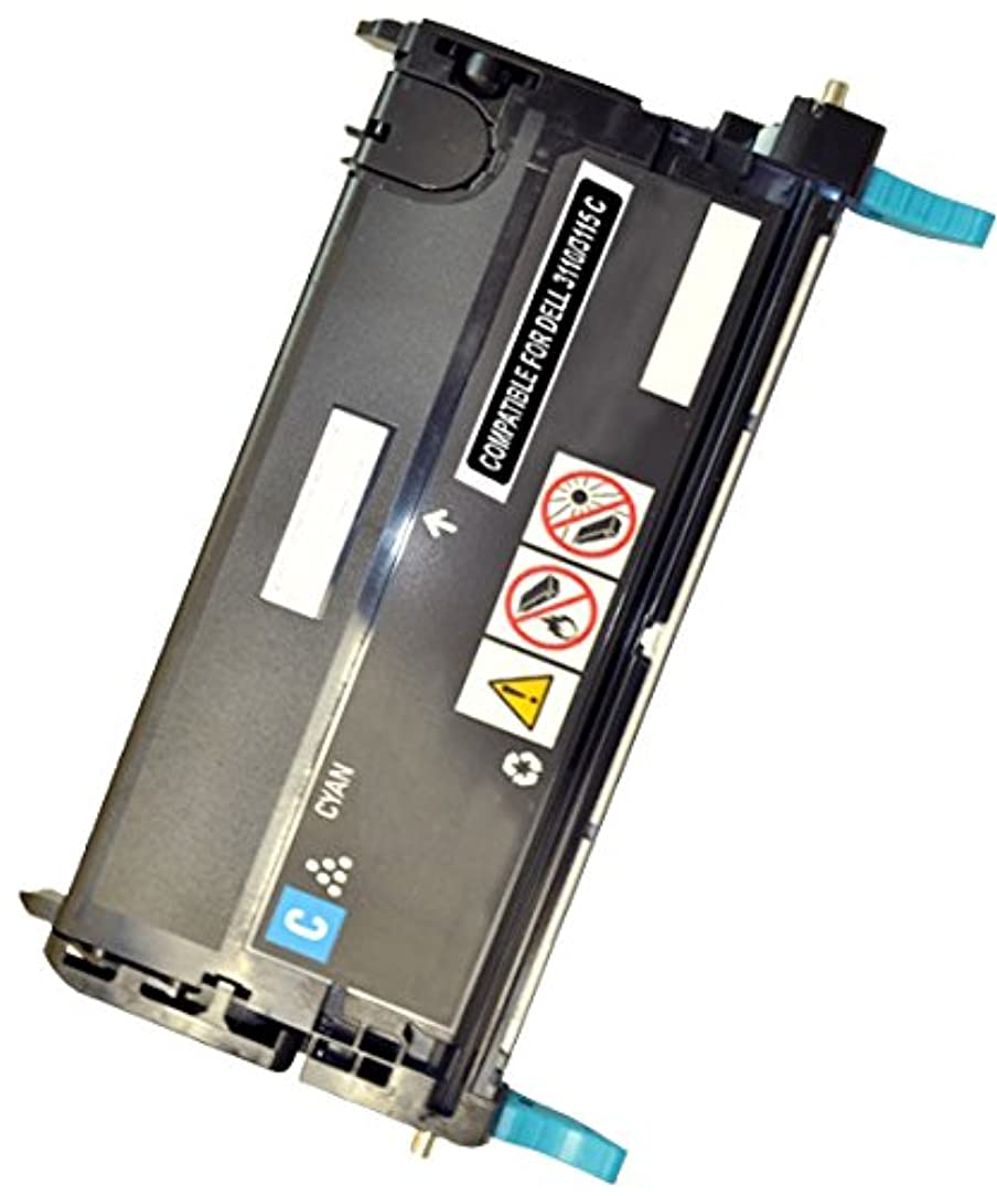 Speedy Toner DELL 3110/3115cn Remanufactured Cyan High Yield Capacity Laser Toner Cartridges Replacement Use for Dell 310-8397 (XG722)