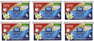 Maxwell House International Coffee Decaf Sugar Free French Vanilla Caf?, 4-Ounce Cans (Pack of 6) by Maxwell House [Foods]
