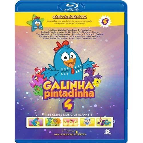 Galinha Pintadinha (Vol.4) (Blu-Ray)