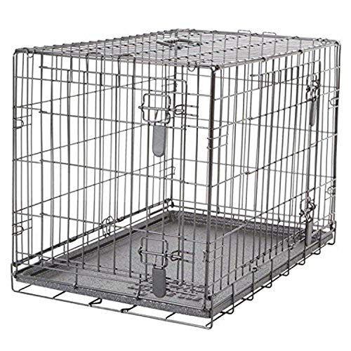 Dogit Jaula Plegable de 2 Puertas, 77 x 48 x 54,5 cm