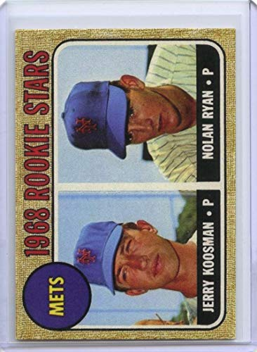 Nolan Ryan Rookie Card 1968 Topps Reprint #177 New York Mets - Ships in Mint Brand New Holder