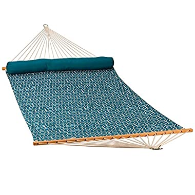 Algoma Net 13' Quilted Hammock w/Matching Pillow