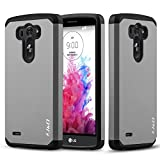 J&D Case Compatible for LG G3 Case, Heavy Duty [Dual Layer]