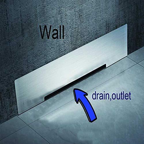 Wandablaufboden Großer Verkehr SUS304 30cm Abtropffläche Badezimmer Dusche Entwässerung Abfluss Große Durchflussmenge Verweigern Sie üble Gerüche