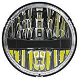 Philips Automotive Lighting H6024LED LED Integral Beam, Universal Plug and Play LED Replacement for H6024 (7-inch round) Sealed Beam Applications, 1 Pack