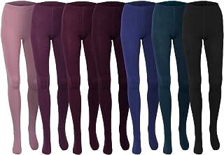Sockenversandhandel.de 1 Stück Thermostrumpfhose weich m. Komfortzwickel Schwarz Grün Blau, Rosa, Violett, S, M, L, XL, XXL