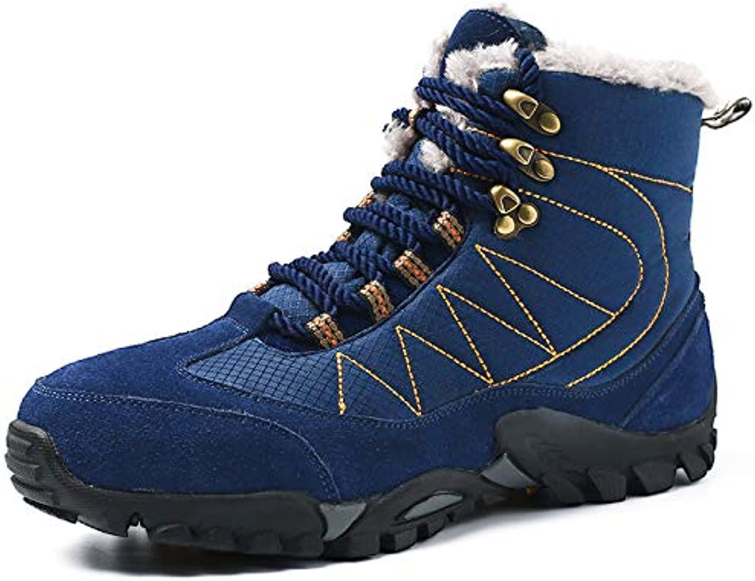 Winter Boots Warm Thick Snow Boots Men's Boots Ankle Boots Outdoor Waterproof Boots