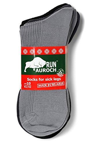 6 Paar Socken für kranke & volle Beine lose elastisch 100prozent Baumwolle