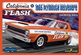 Moebius 1222 'Butch' Leal's California Flash A-990 HEMI Super Stock 1965 Plymouth Belvedere 1:25 Scale Plastic Model Kit - Requires Assembly