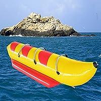 ポータブル漁船インフレータブルボート大人と子供のための6人のカヌースキーボートエンターテイメント,C