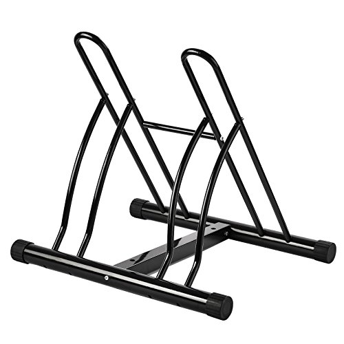 The Way It is Bicycle Stand Storage Rack Organizer Home Garage Parking Cycling 2 Bikes in One