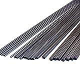 8pcs 4.0mm Square Carbon Fiber Rods 4.0x4.0x420mm,1.4/2/3/4/6mm Available