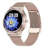 Yumanluo Smartwatch,Relojes fisiológicos de Las Mujeres, Pulsera-C de los Deportes del Control de la Salud,Reloj Inteligente con Pulsómetro