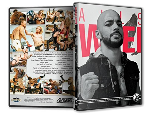 Official Pro Wrestling Guerrilla PWG - All Star Weekend 13 Night 1 2017 Event Blu-Ray