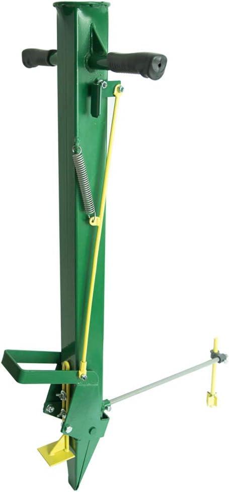 Varomorus Jardín Metal Precisión Sembradora Manual Bulbo Plantador Transplantador para Cebolla Ajo