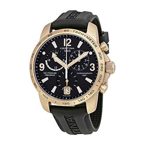 Certina DS Podium GMT Precidrive Herren-Chronograph C0016399705704