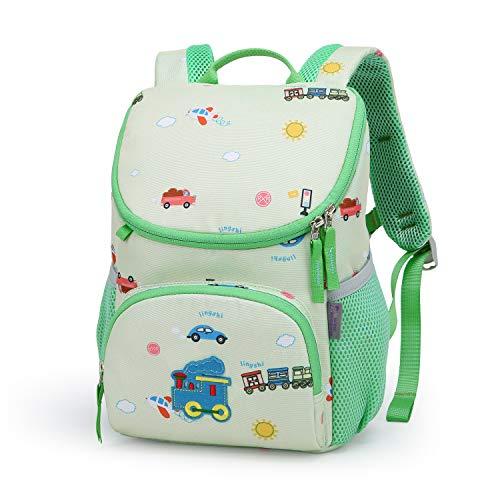 MOUNTAINTOP 5L Kindergartenrucksack Mini Backpack Kinder Kleinkind Rucksack mit Brustgurt,Namensschild für Baby Kleinkinder, 21 x 12 x 30CM
