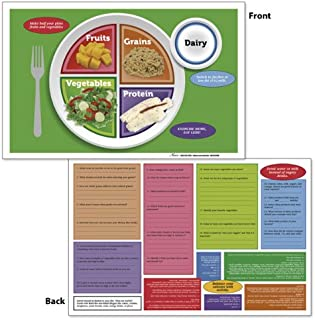 Nasco Fort Atkinson MyPlate Tear Pad and Place Mat, 17