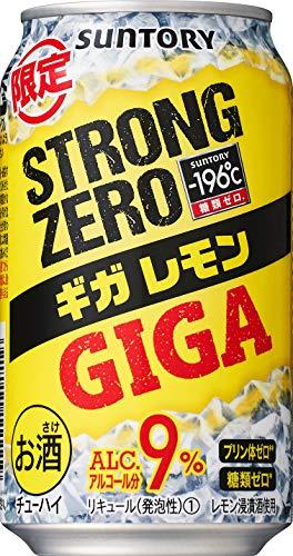 【2020年新発売】 -196℃ ストロングゼロ ギガレモン [ チューハイ 350ml×24本 ]