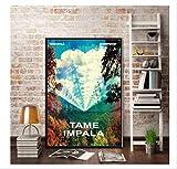 DPFRY Leinwandbild New Tame Impala Psychedelic Rockmusik