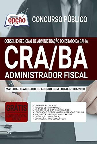 Imagem representativa de Apostila Concurso CRA BA - Administrador - Fiscal