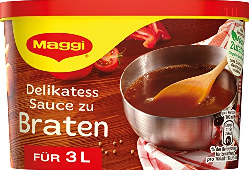 Maggi Delikatess Sauce zu Braten, Dose, ergibt 3 Liter