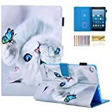 Casii Case for All-New Amazon Fire HD 8 Case (8th/7th/6th