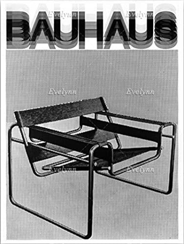 ZzSTX Póster De Lienzo Silla Diseñada por La Bauhaus por Marcel Breuer Póster De Muebles Impresiones Artísticas En Blanco Y Negro Imagen Artística para Pared Decoración del Hogar 50X70Cm Sin Marco