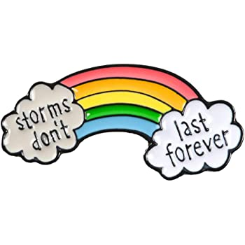 Rainbow Jesus Loves Everyone Badge