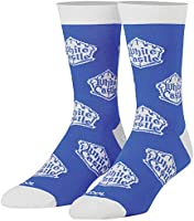 Cool Socks - Mens Folded Crew - White Castle
