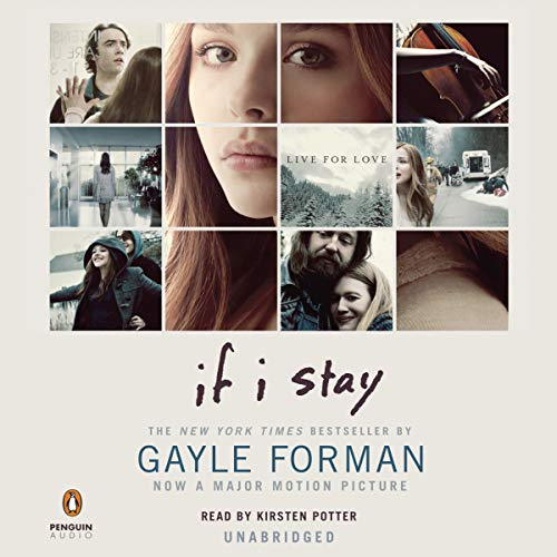 If I Stay audiobook cover art