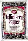 Spicy World Whole Black Peppercorns Tellicherry 16 Oz - Steam Sterilized -Non-GMO Black Pepper - Grinder...