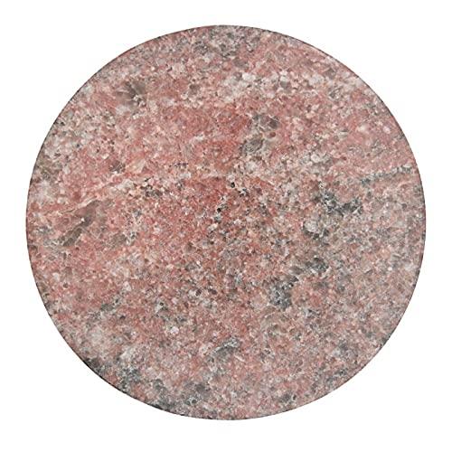 Patrón de granito rojo hermoso imán de cristal del refrigerador adecuado para gabinete de oficina pizarra blanca 4 PCS