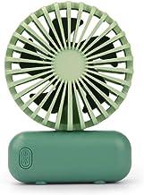 Hui Jin Mini ventilateur portatif USB alimenté par batterie pour la maison, le bureau, la chambre et les voyages en extéri...