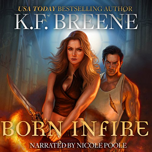 Born in Fire audiobook cover art