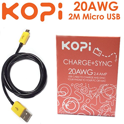2.1A Micro USB Sync & Charging Cable (2M)