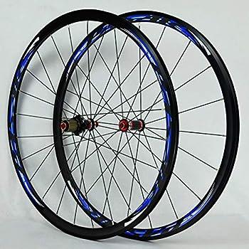 WANGYONGQI 700C Ruedas de Fibra de Carbono Bicicleta de Carretera ...