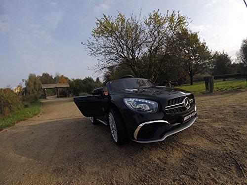 RC Auto kaufen Kinderauto Bild 6: Mercedes-Benz Kinderauto SL65 AMG Coupe Elektroauto Kinderfahrzeug Ledersitz (schwarz)*