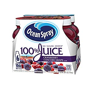 Ocean Spray 100% Juice, Grapefruit, 60 Ounce Bottle (Pack of 8) |