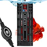 HiTauing Submersible Aquarium Heater, 200W/300W/500W Silicon Carbide Fish Tank Heater with Over Temperature Protection and Anti-Dry Burning Function, Suitable for Freshwater and Saltwater