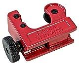 Kippen 1177 Tagliatubi a Rotella Compatto, Rosso, 3 a 16 mm