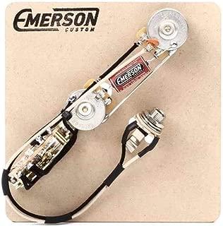 Emerson Custom Telecaster 4-Way Reverse Control Layout Prewired Kit w/ 250K Ohm Pots