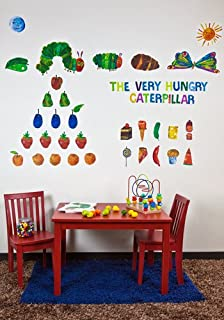 Oopsy daisy Eric Carle, 's The Very Hungry Caterpillar TM Peel and Place Childrens Wall Decals by Eric Carle, 54 by 45-Inch