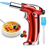 DYD Blow Torch, Professional Kitchen Cooking Torch with Safety Lock, Adjustable Flame Refillable